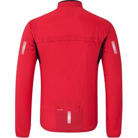 Shimano Compact Cortavientos Hombre, rojo